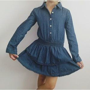 Ella Moss Denim Girl's Dress Size 8